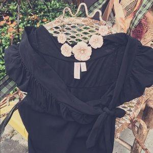 🥀Sweet Pea Black Vintage Vibe Dress🥀